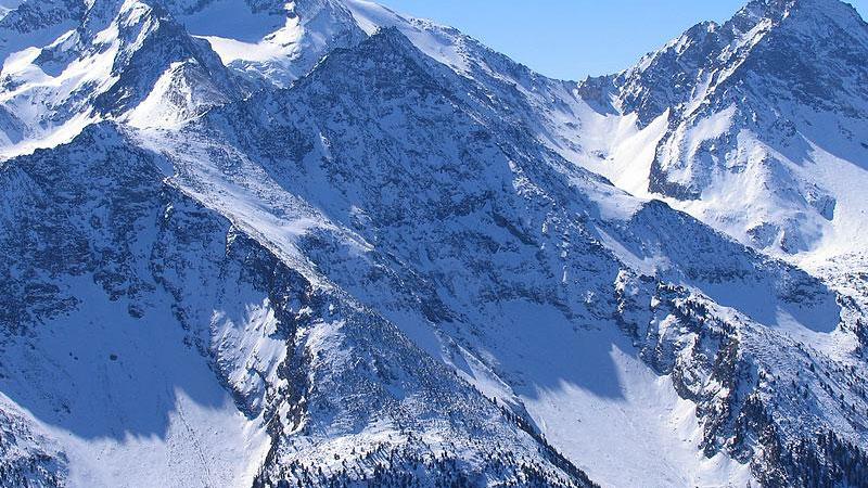 ghiacciai in Italia